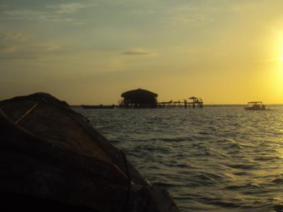Sunset at the Pelican Bar