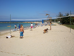 sunset_beach_jamaica_volleyball