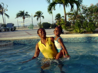 all inclusive resorts in jamaica - tasha a leah baby