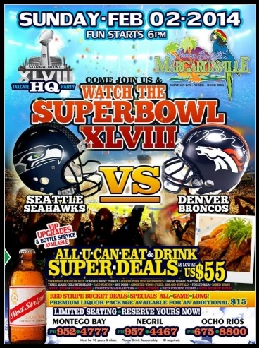 superbowl parties in jamaica