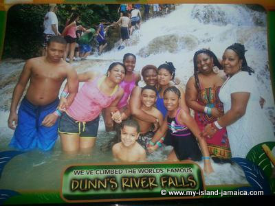 We've climbed the worlds' famous Dunn's river falls