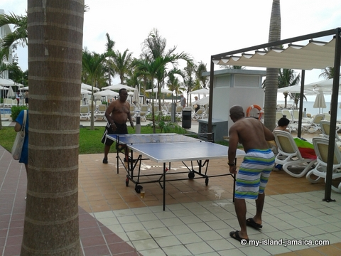 Table Tennis at Rui Palace Jamaica