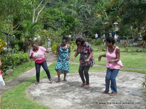 jamaican dance steps