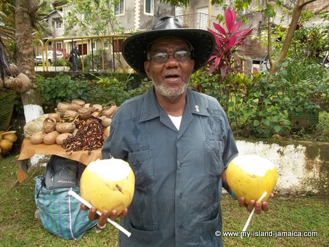 Jamaican Jelly Man at tapioca