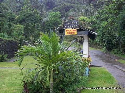 tapioca retreat entrance