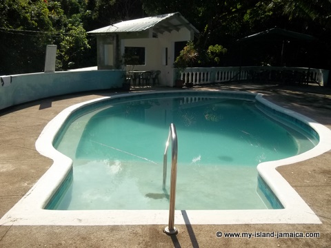 Pool at Tapioca Village, St. Mary Jamaica