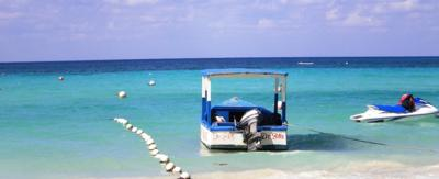 Dr. Bill's Boat,  7 Mile Beach, Negril Jamaica