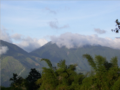 blue mountain jamaica - clouds