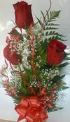 3 Rose Bud Vase