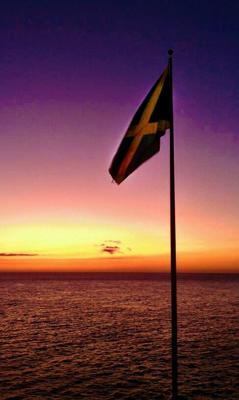 True Jamaican Sunset
