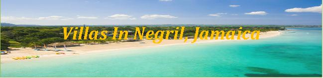 Best Villas In Negril, Jamaica