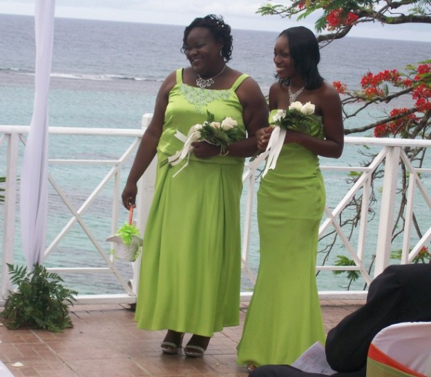 Wedding Ceremony - Bridesmaids - Tanya and Christal