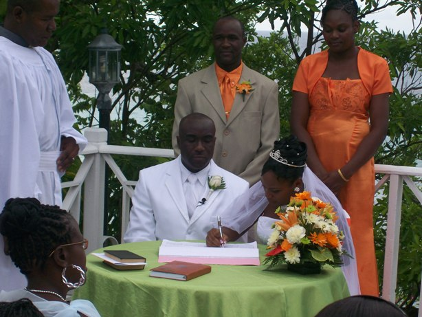 Wedding Ceremony - Signing
