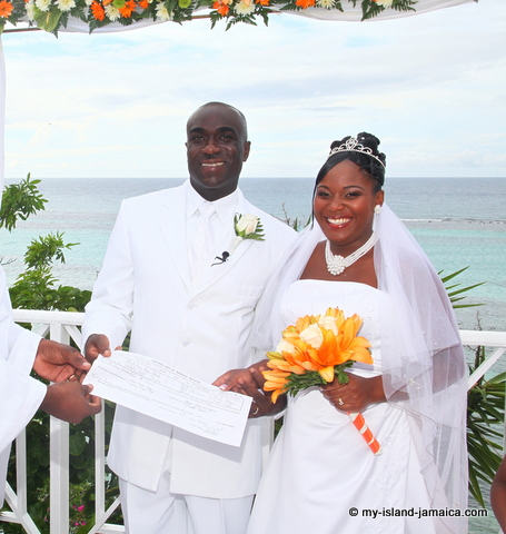 Jamaican Wedding Couple_wellesley_and_omeil_wedding_in_jamaica_photo