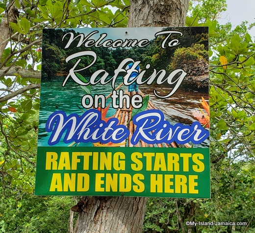 rafting on the white river in ocho rios