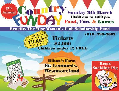 Country Fun Day 2014  -hosted by the Wise Wome Of Montego Bay