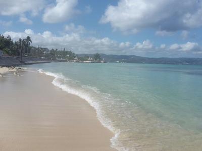 Beach In Montego Bay Jamaica