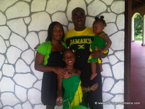 Jamaican Dress - Colors of jamaica