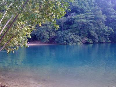 The Blue Lagoon, Portland, Jamaica