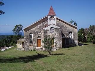 Salem Moravian Church at (Left hall) Beeston Spring Jamaica