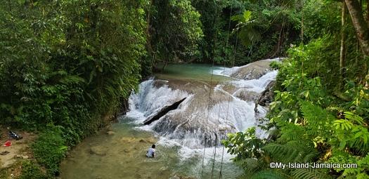 benta falls pools