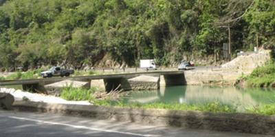 The Flat Bridge in St. Catherine, Jamaica <br><font size=1>source:Wikipedia.com</font>