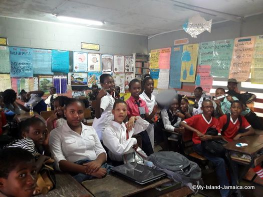 careers_day_at_jamaican_primary_school_springfield_all_age_students_listening