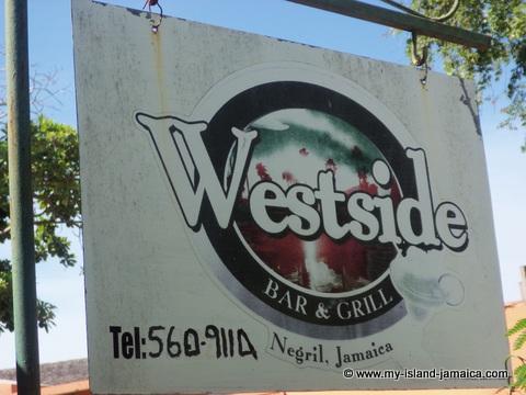West Side Restaurant Negril