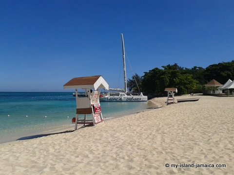 Cornwall Beach In Montego Bay Jamaicas