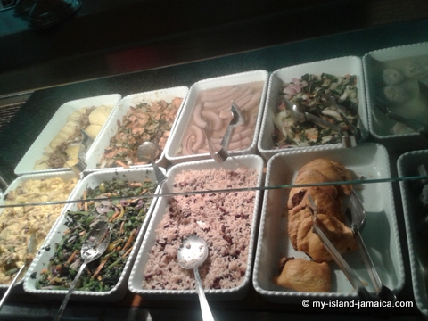Jamaican cuisine at Rui Palace Jamaica