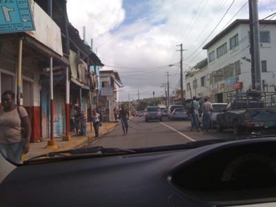 dude dragging rebar down the middle of a 4-lane jamaican highway :D