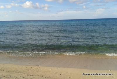 One of Jamaica's Beach on the North Coast