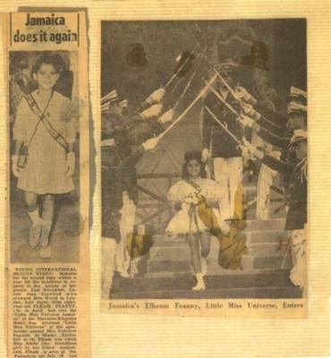First Ever Little Miss Jamaica, crowned first ever Little Miss Universe