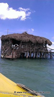 Floyds Pelican Bar on Jamaica's South Coast