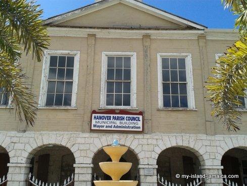 hanover parish council building