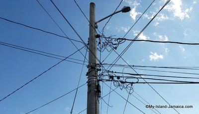 Jamaica Electricity Pole