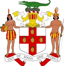 jamaican laws - jamaican coat of arms