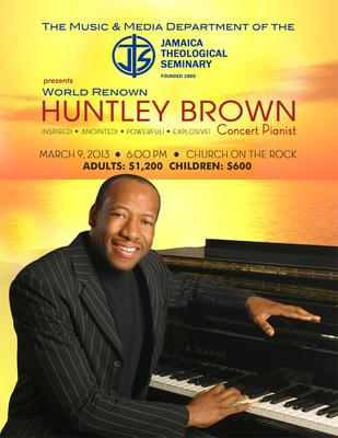 Huntley Brown- World Leading Concert Pianist