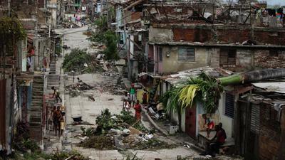 Hurricane Gilbert In Jamaica