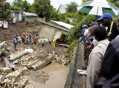 Impact Of Hurricane Gilbert In Jamaica 1988