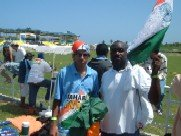 Indian Fan and I