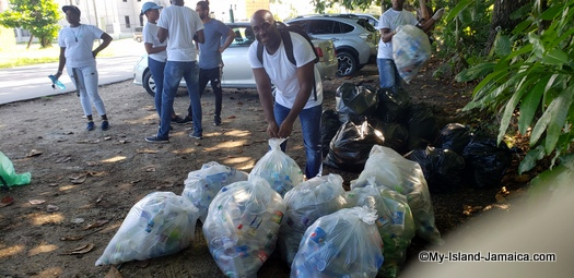 international_coastal_cleanup_day_jamaica_all_garbage_and_bottles
