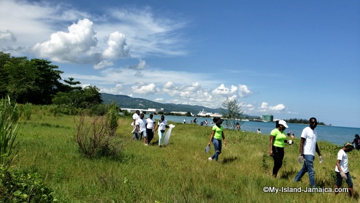 international_coastal_cleanup_day_jamaica_well_represented