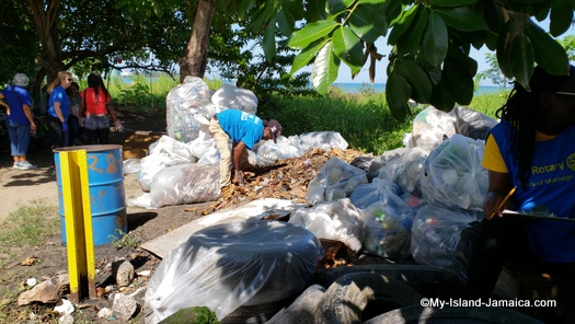 international_coastal_cleanup_day_jamaica_dragon_gym_or_meeting_place