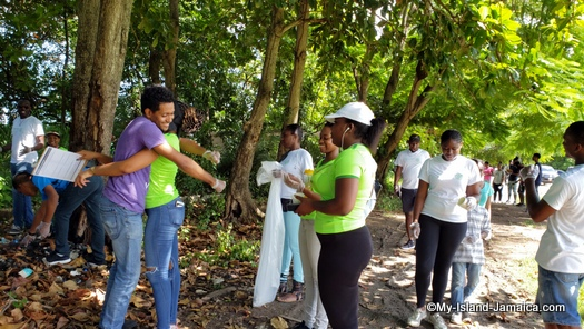 international_coastal_cleanup_day_jamaica_greeting_meeting_place