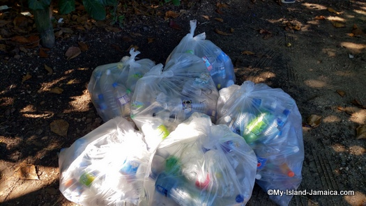 international_coastal_cleanup_day_jamaica_plastics_only