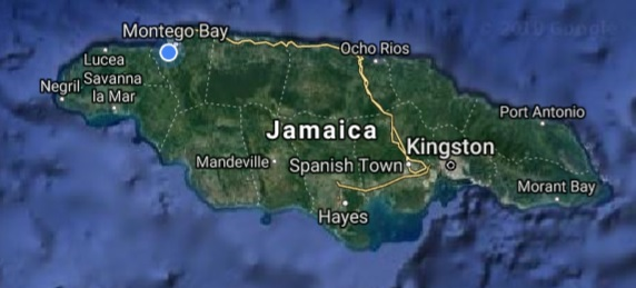 How LARGE is Jamaica