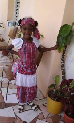 jamaican bandana dress