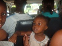 My Daughter in the Bus