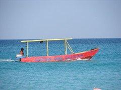 Getting Around Jamaica - Jamaican Glass Bottom Boat